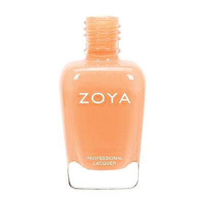 zoyapolish, peach, nail polish, spring nail trends