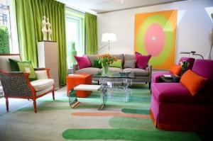 wall color, area rug