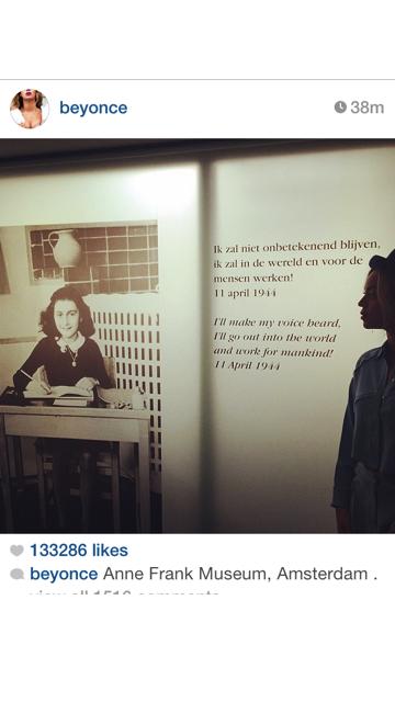 Beyoncé Visits Anne Frank Musuem | The Source