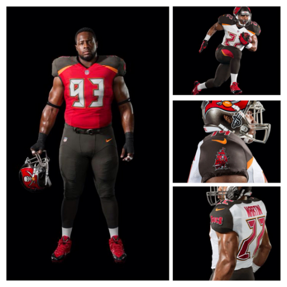 bucs new unifrom