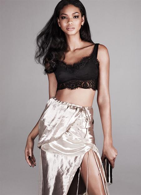 chaneliman, net-a-porter, supermodel, runway