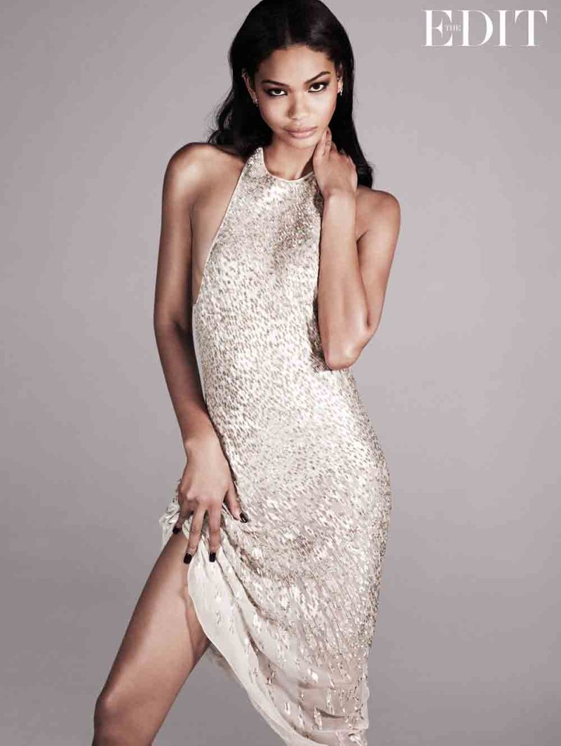 chanel iman photo shoot1