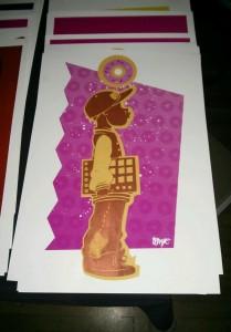 Original artwork of the Man of Honor by Xavier Payne (IG: @xpayneart)