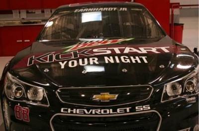 Las Vegas, Kickstart, Mountain Dew, Dale Earnhardt Jr, NASCAR