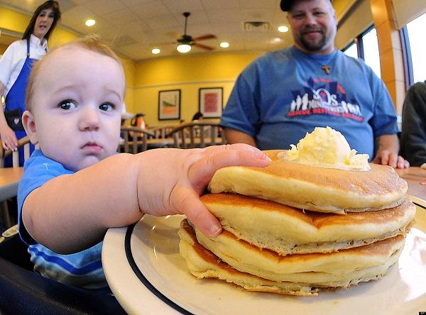 ihop, free, pancakes, food, breakfast