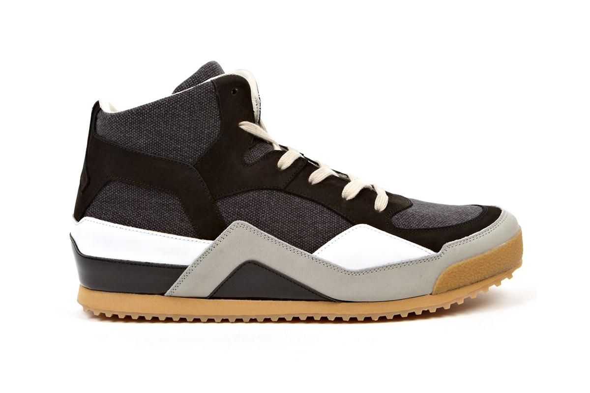 maison martin margiela mid top sneakers 1