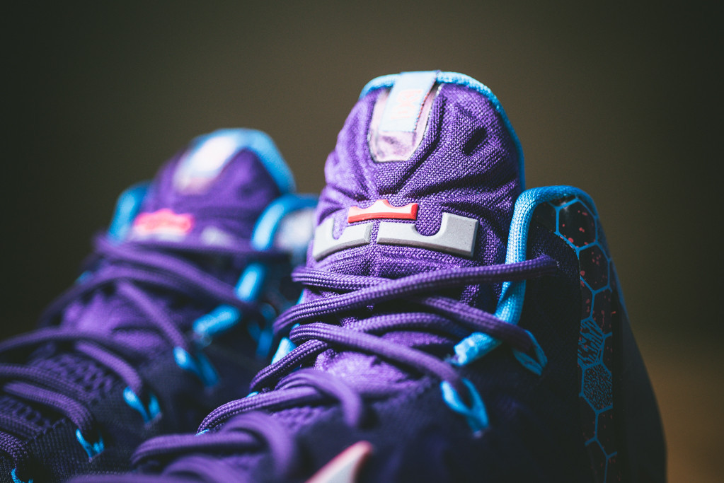 nike lebron 11 court purple summit lake hornets 3