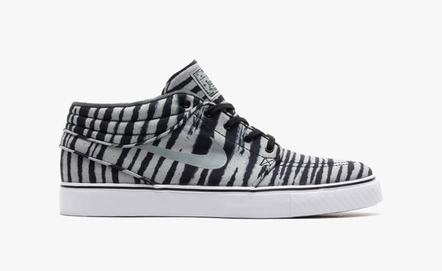 460d292c9bdf Get your lil  Wayne on with these funky zebra inspired kicks! The Nike SB  Stefan Janoski ...