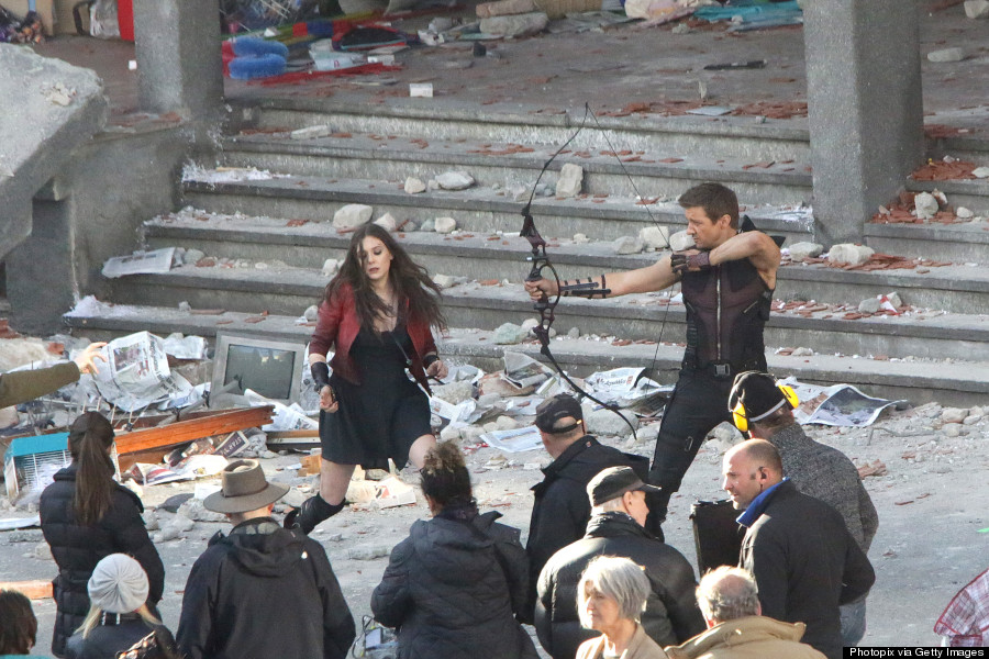 Scarlet Witch, quicksilver, avengers, age of ultron, movie