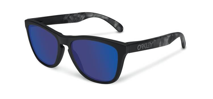 Oakley Frogskins Blue Sunglasses