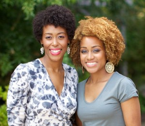 Black Girls Run! founders Toni Carey and Ashley Hicks.