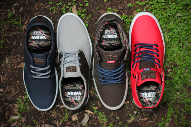 vans otw collection soldier pack for spring 2014