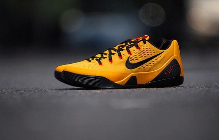 """half off a6239 49ad7 Sneaker Of The Day  Nike Kobe 9 Low EM """"Bruce Lee"""""""