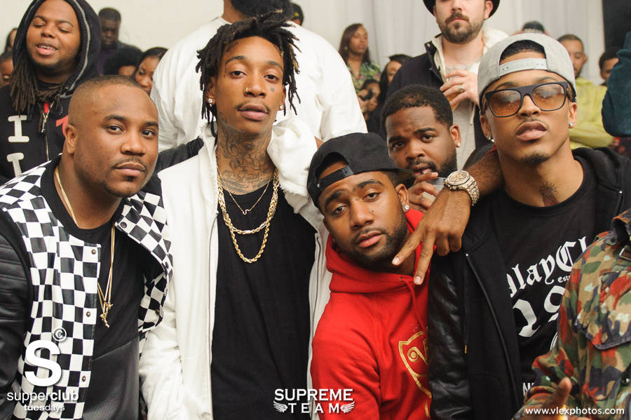 August Alsina J Cole And Wiz Party At Superclub In La Page 2 Of