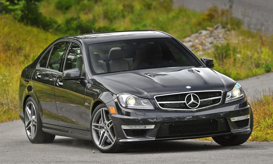 Mercedes Benz C AMG sedan drive review