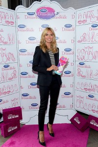 Heidi Klum joined Dr. Scholl's® to announce the DreamWalk™ line of insoles in New York