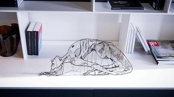 lix, 3d, 3d printing, art, design