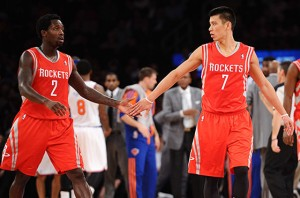 Jeremy Lin, Patrick Beverly, NBA, Playoffs, Rockets