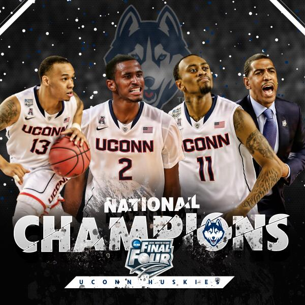 NCAA, Champions, Huskies, Final Four, March Madness