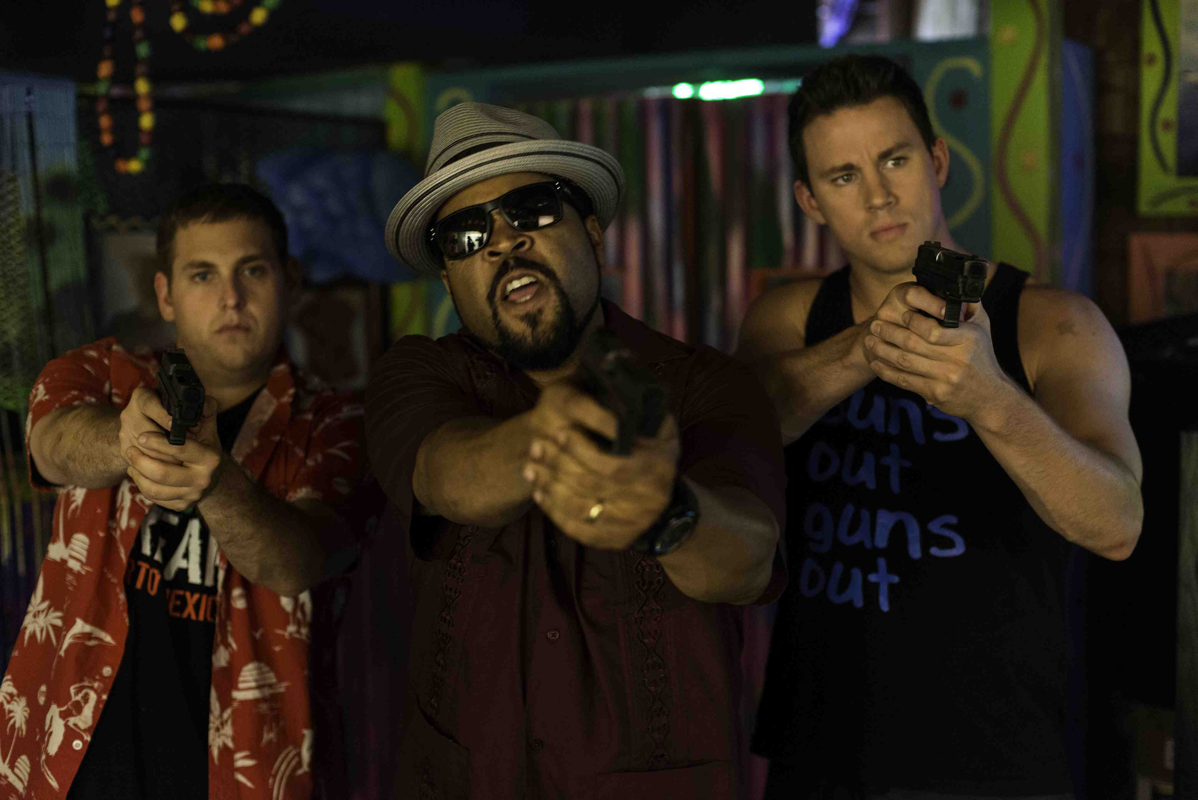 Ice Cube;Jonah Hill;Channing Tatum