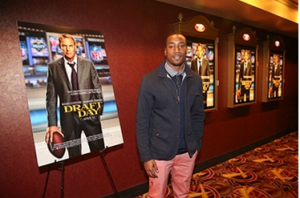 Manningham of the NY Giants attends the 'Draft Day' Special Screening at AMC 34th Street on April 3, 2014 in New York City