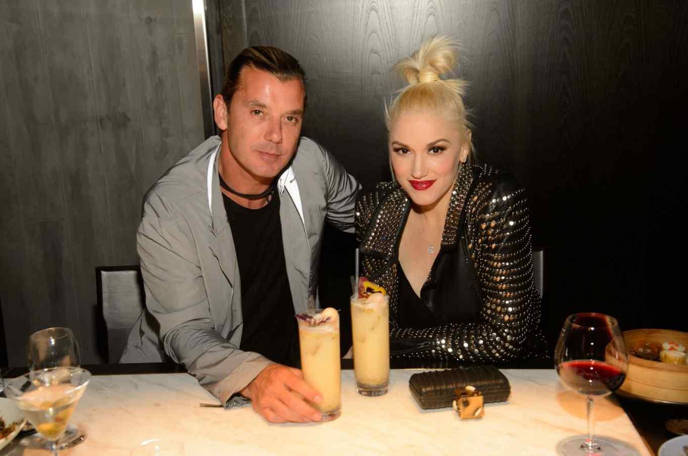 Gwen and Gavin Hakkasan Las Vegas Restaurant