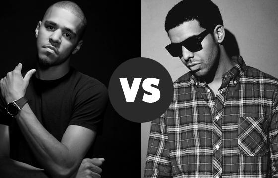 J Cole Eyebrows Vs Drakes RUFFSTARR.COM �...