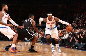 Knicks, Nets, Melo, Joe Johnson, MSG