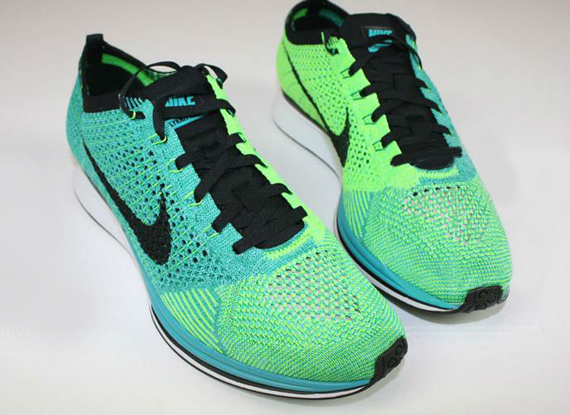Sneaker Of The Day  Nike Flyknit Racer- Turquoise  Lucid Green  c7f45ea40b8e