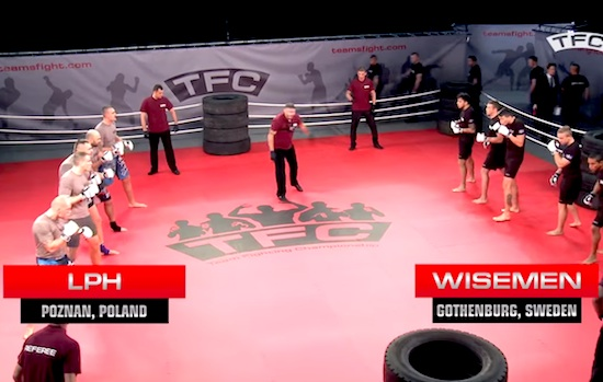 mma, Team Fighting Championships, fighting, poland, sweden