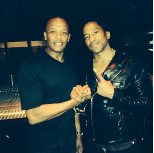 Q-Tip Dr.Dre In The Studio Detox
