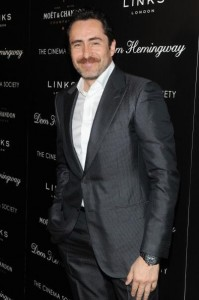 Actor Demian Bichir attends the Fox Searchlight Pictures' 'Dom Hemingway' screening hosted by The Cinema Society And Links Of London on March 27, 2014 in New York City.