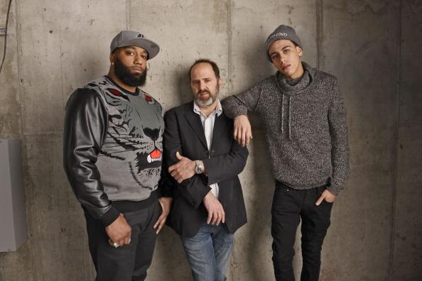 Actor James 'Primo' Grant, director Keith Miller, and actor John Diaz from 'Five Star' poses for a portrait at the 2014 Tribeca Film Festival Getty Images Studio on April 18, 2014 in New York City.