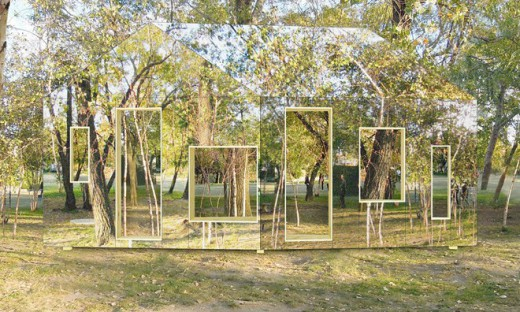 This invisible barn is perfect for all those who want to - Arquitectura invisible ...