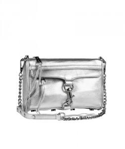 rebecca minkoff, silver, metallic, metallic handbag, eluxe canada, streetstyle,