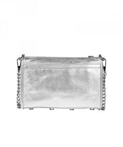 rebecca minkoff, mini mac bag, rebecca minkoff mac bag, metallic bag, silver handbag, her source vices,