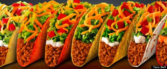r HEALTHIER TACO BELL large