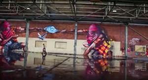 Fintan Magee, graffiti, Quench, Sofles, street art, Treas