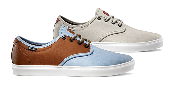 f4a019aea4 New Vans OTW Collection Summer 2014  Oxford Colorways of the Ludlow ...