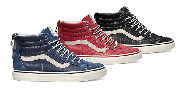 8e5137087f Check Out Vault By Vans Sk8-Hi Reissue Zip LX Colorways for Summer ...