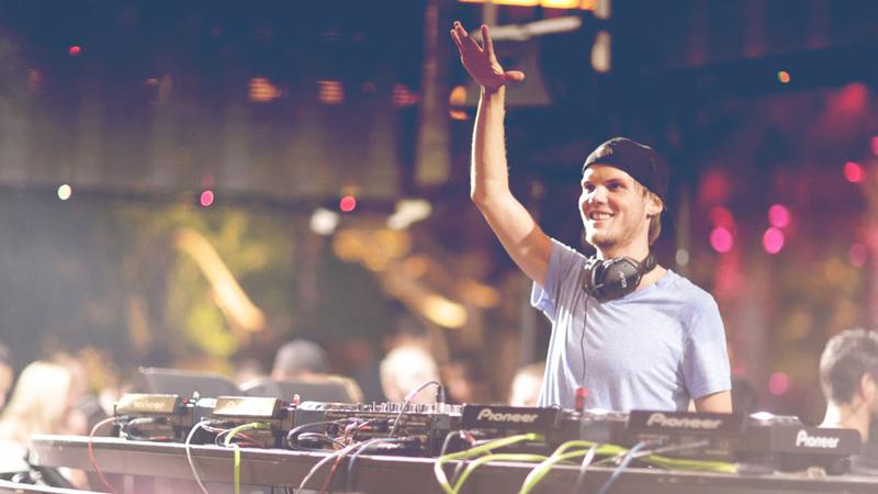 On Saturday night, Avicii played XS nightclub at the Wynn Las Vegas.