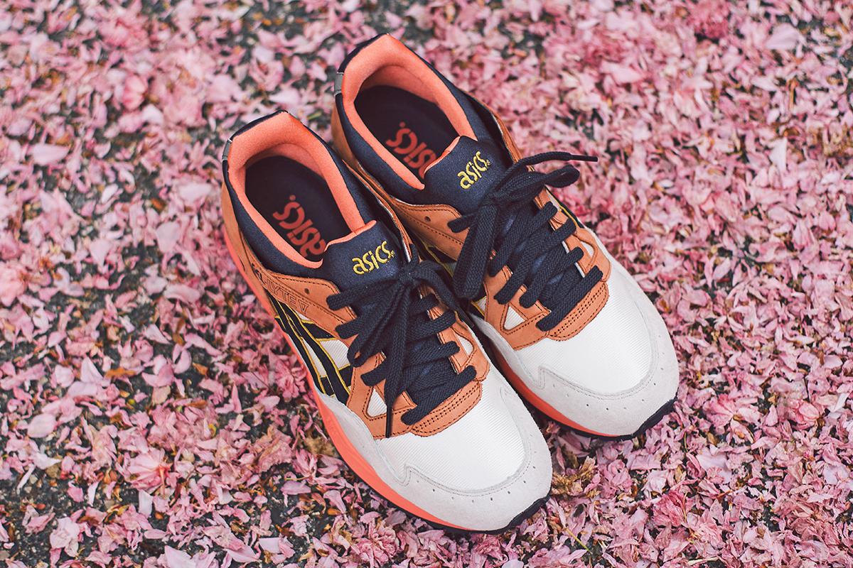 "nowy haj ładne buty szalona cena Sneaker Of The Day: UBIQ x Asics Gel Lyte V ""Midnight Bloom ..."
