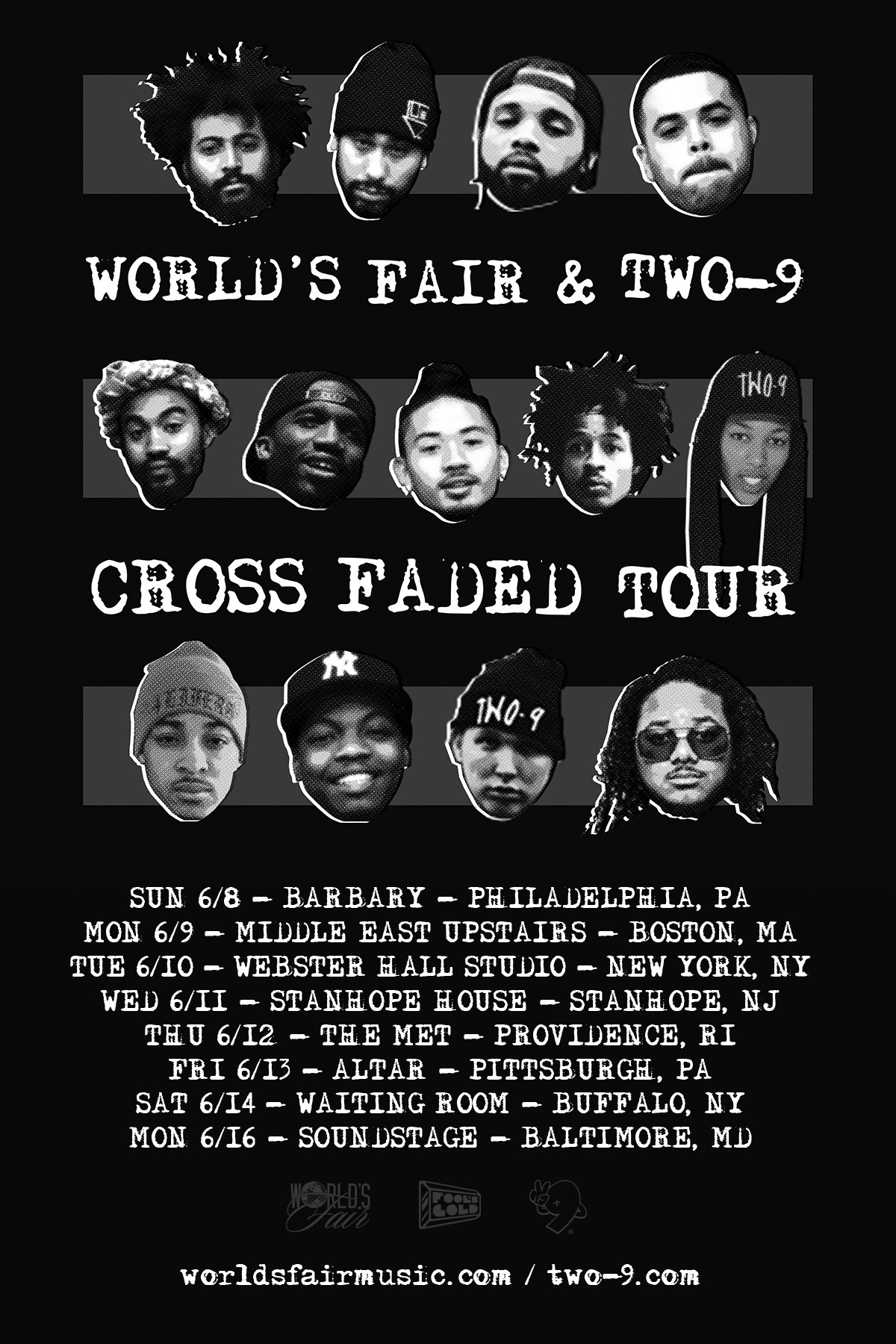 Cross Faded Tour