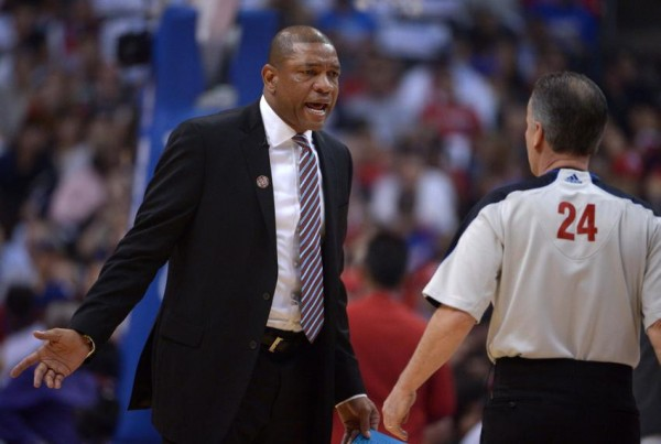 Doc Rivers, Referee, Los Angeles, Clippers, NBA Playoffs