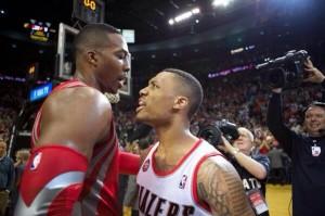 NBA, Playoffs, Lillard, Dwight Howard, Rockets