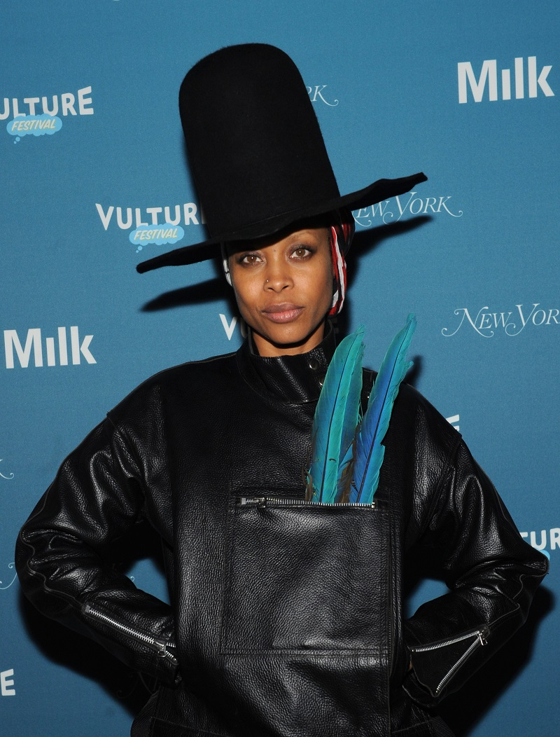 Erykah Badu attends Vulture Festival Opening Night Party