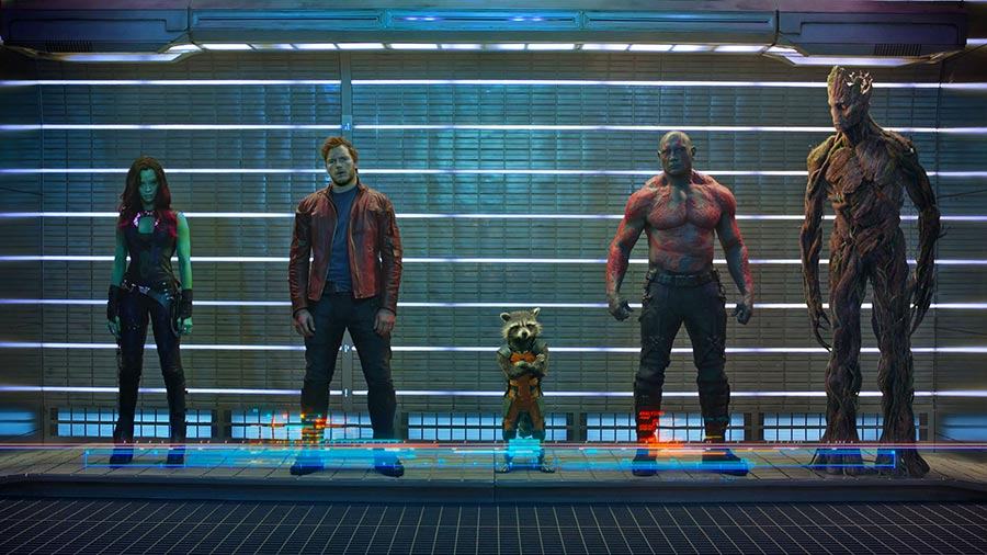 Guardians Of The Galaxy New Trailer 2 Chris Pratt Zoey Saldana Dave Batista Bradley Cooper
