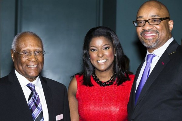 Herb Douglas, Lori Stokes and Rodney Williams from Hennessy