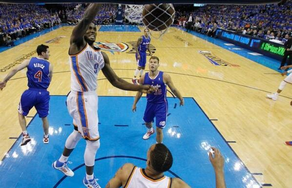 Ibaka, NBA, Playoffs, Kevin Durant, Spurs