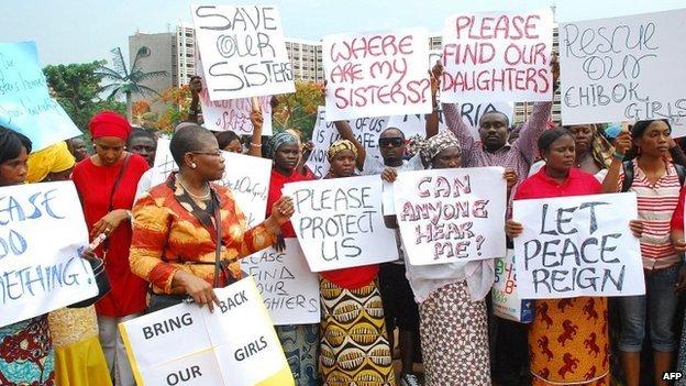 Nigerian Women Standing Firm